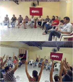 Professores de Nova Palmeira aprovam proposta de negociação para garantir o piso salarial