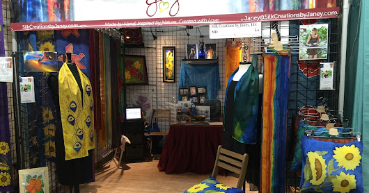 Silk Creations by Janey loves the special stories that happen at the shows!!