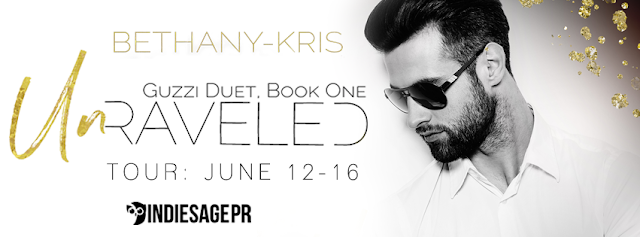 [Blog Tour] UNRAVELED by Bethany-Kris @bethanykris @IndieSagePR #Giveaway #Excerpt #UBReview #Playlist
