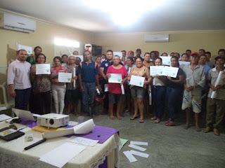 CEOP capacita agricultores de Picuí em Gestão de Recursos Hídricos