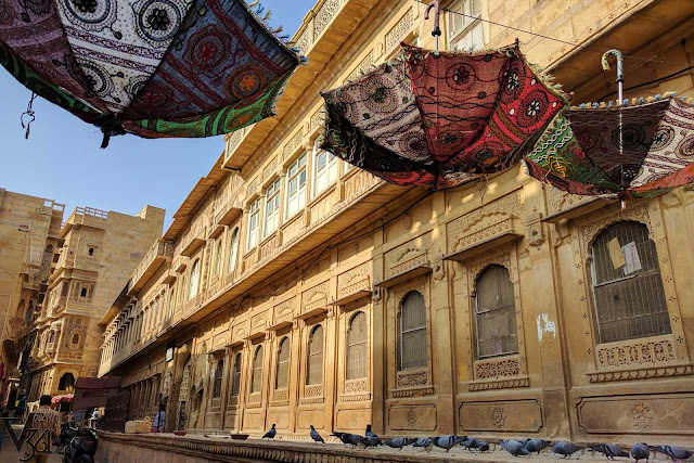Gorgeous heritage streets of the Jaisalmer city