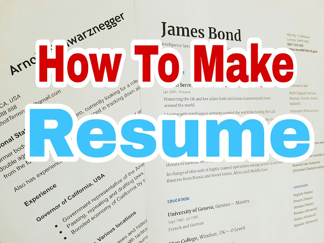 How to Make a Resume for Google, Amazon and Facebook. A perfect resume for you.