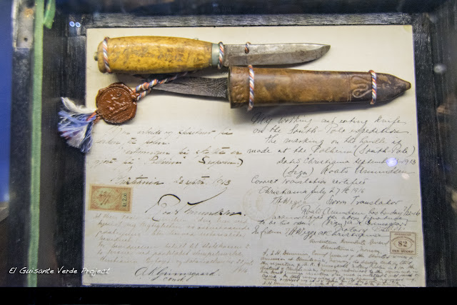 Cartas tripulación Fram - Museo Fram, Oslo por El Guisante Verde Project