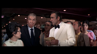 Bruce Cabot und Sean Connery in 007 - Diamantenfieber, 1971