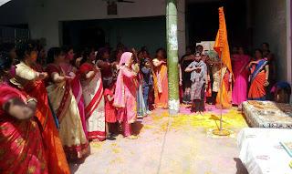 Jaunpur News :  भारतीय संस्कृति में व्याप्त अन्तःचेतना का प्रस्फुटन है होलीः माया पाण्डेय