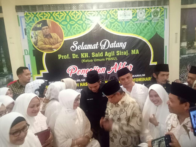 Said Aqil Doakan Jokowi-Ma'ruf dan Aswaja Berkuasa