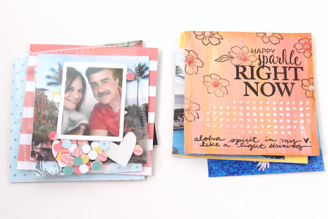 Felicity Jane Art Journaling Mini Album by Nancy Damiano
