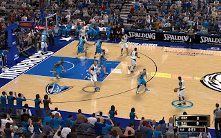 NBA 2K13 Dallas Mavericks Court American Airlines Center Patch