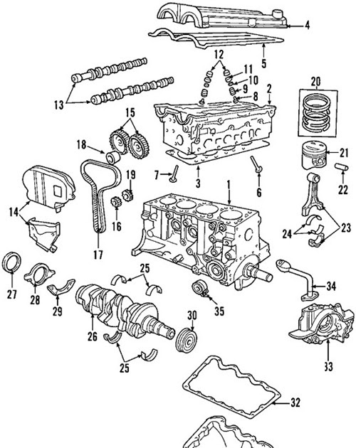 ford duratec 30 escape engine diagram