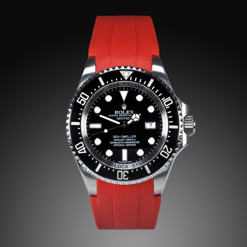 Oceanictime Rubberb For Rolex Sea Dweller Deepsea