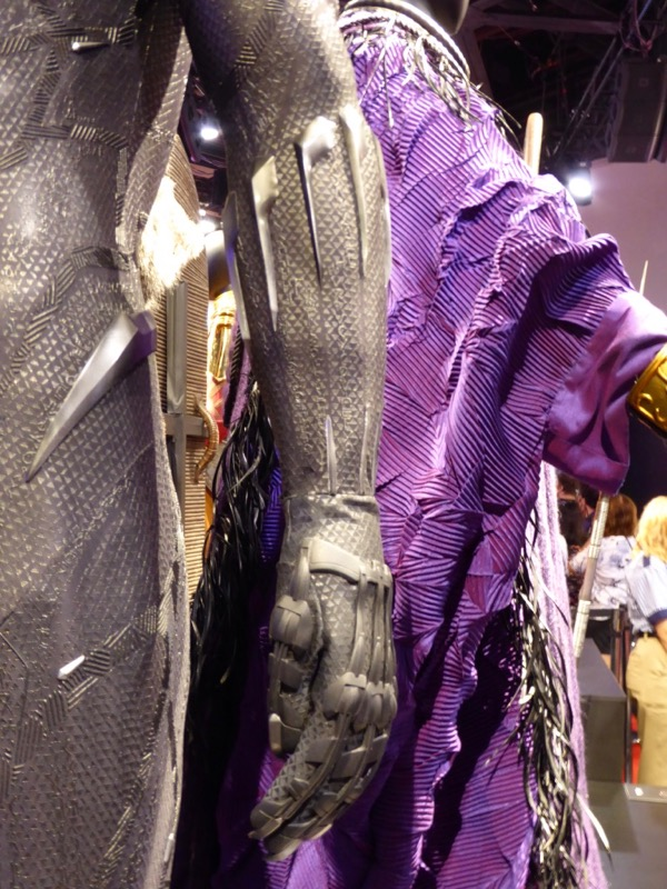 Black Panther costume glove detail