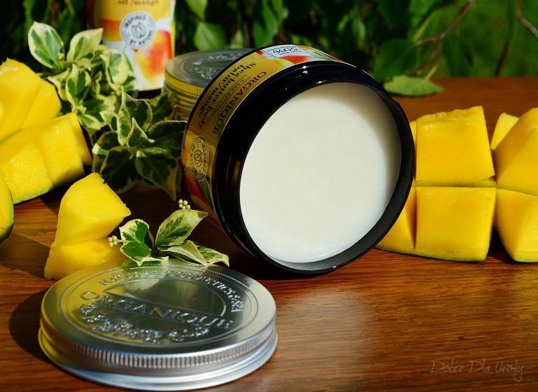 Rytuał Organique o zapachu słodkiego mango - balsam do ciała z masłem Shea