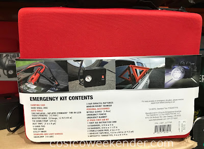 Costco 1177769 - Bridgestone Auto Emergency Kit: great for any car trunk