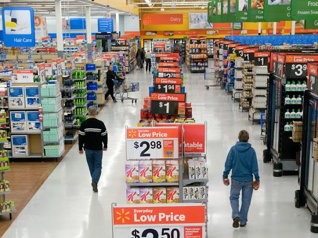 Como é o supermercado Walmart em Miami?