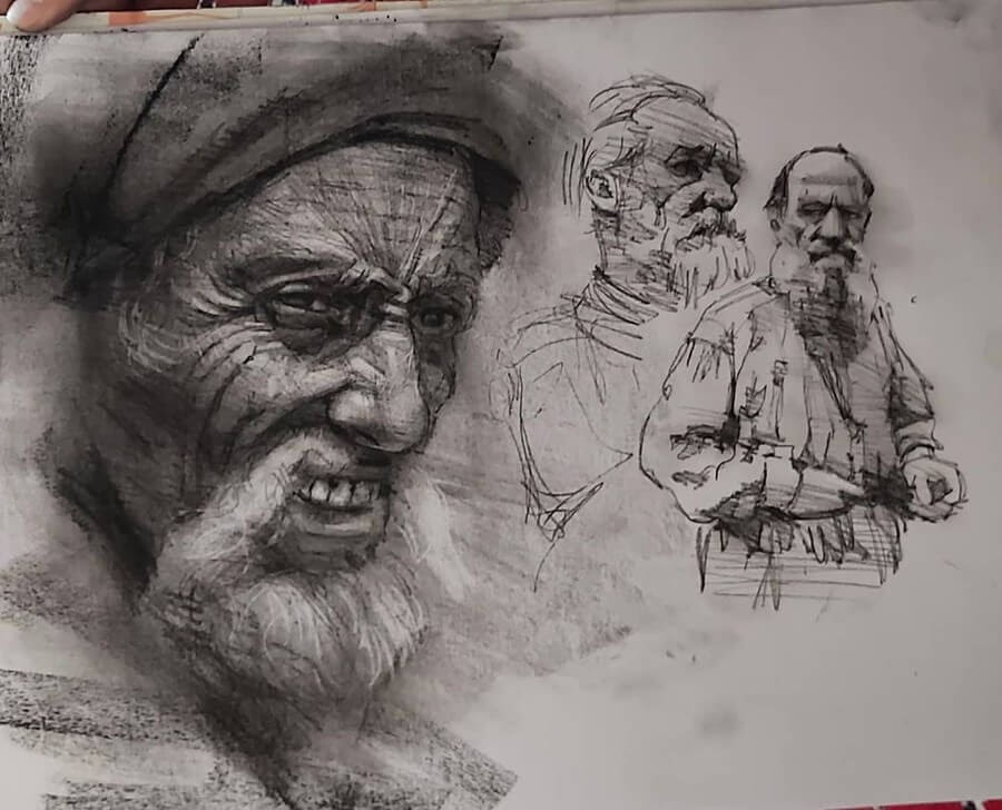 05-Pencil-and-Charcoal-Soroush-Jahdi-Sketch-Portraits-www-designstack-co