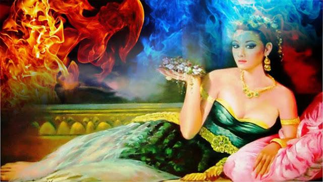 Dewi Tanuran Gagang Perempuan Berkelamin Api
