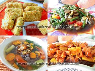 Resep Menu Masakan Sahur Praktis