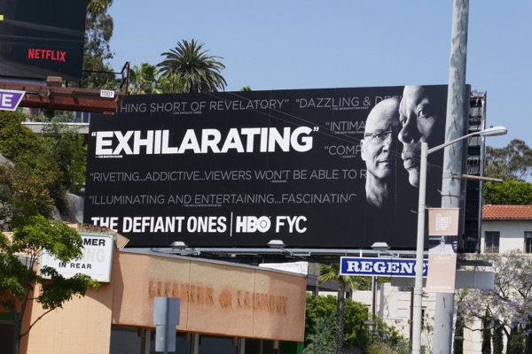 Defiant Ones Exhilarating Emmy FYC billboard