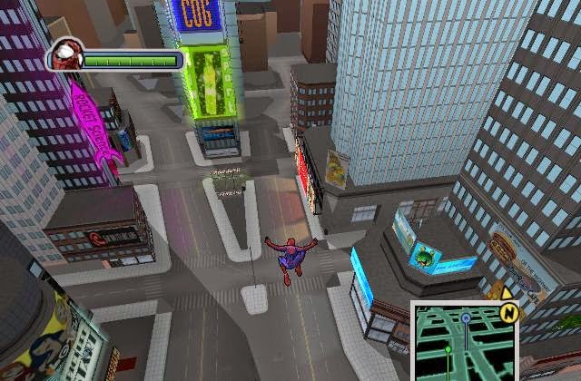 Ultimate Spider Man PC Games Gameplay
