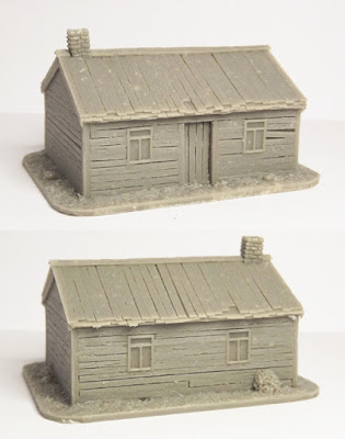 SCN-EF01  Russian house, type 1 (Size: 65x50mm)
