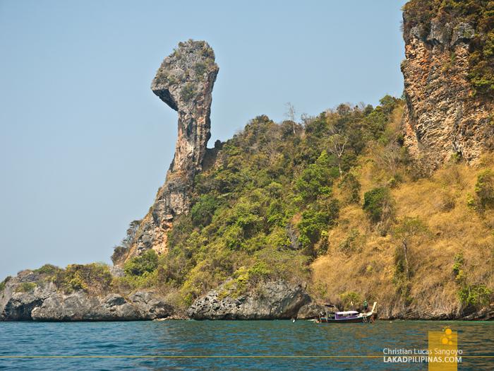 Krabi Four-Island Hopping Tour Chicken Island