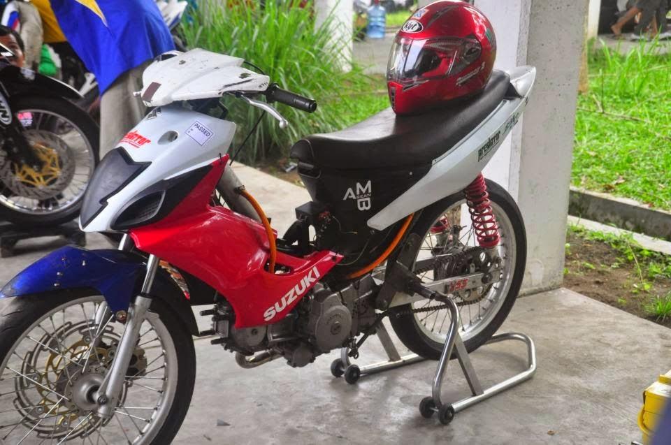 Kumpulan Foto Modifikasi Motor Suzuki Arashi  Modif Motor