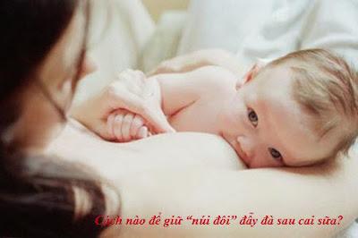 Cách thức nào có khả năng cải thiện vòng 1 sau sinh cho các mẹ.