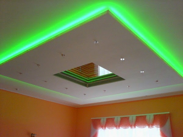 5 Gypsum False Ceiling Designs With Led Ceiling Lights For
