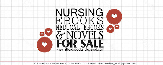 80+ NURSING EBOOKS FOR SALE ONLY 300 PESOS FOR THE WHOLE PACKAGE!