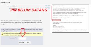 PIN Google Adsense Tidak Datang : Inilah Solusinya