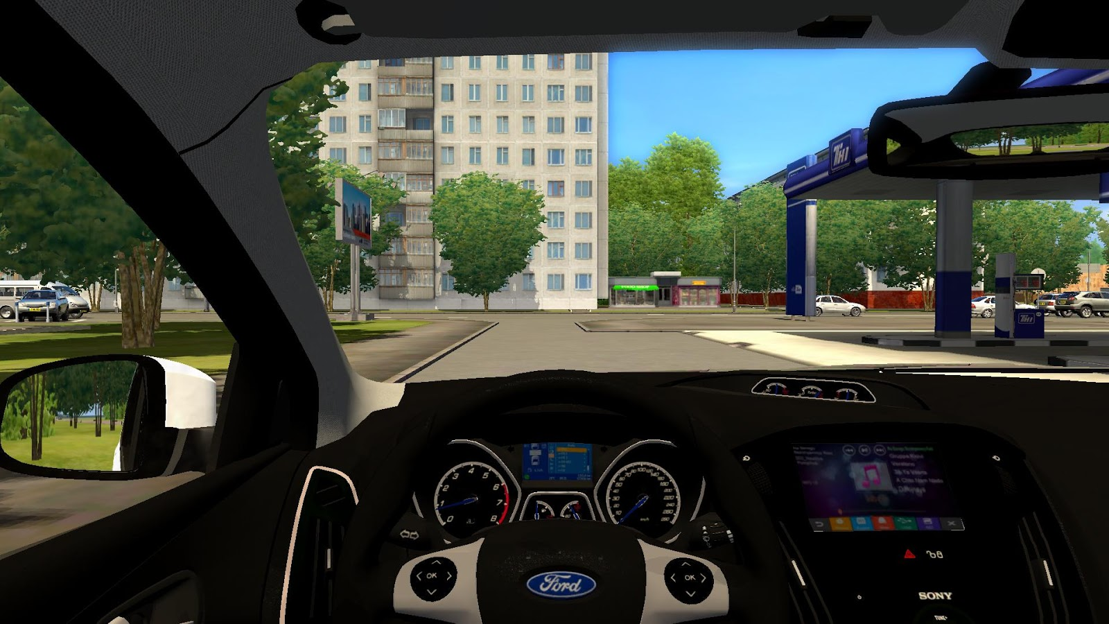 City Car Driving Topic Ford Focus St 3 Remake 1 2 5 1 1
