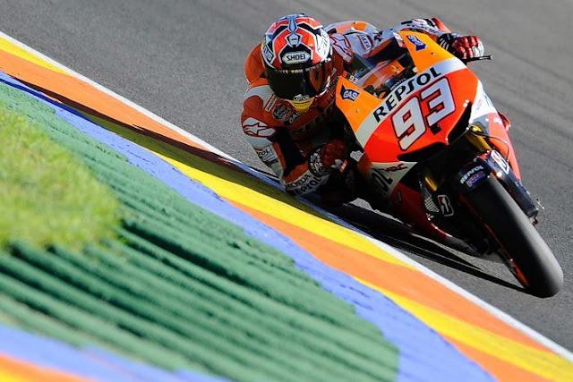 berita motogp Marquez : Saya butuh tekanan untuk bisa menang
