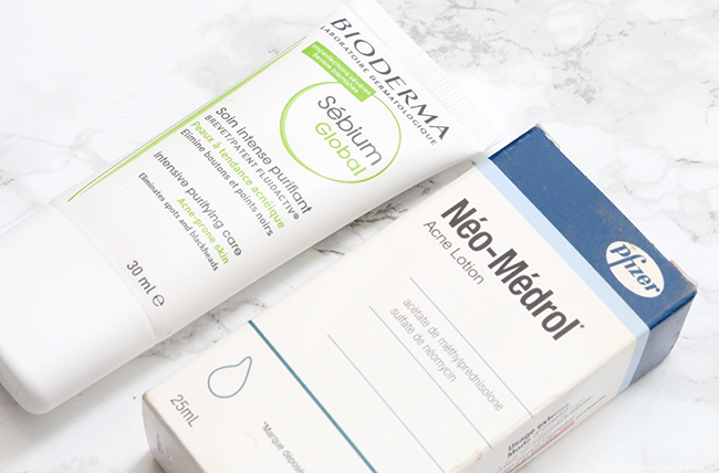 Acne Treatments: Bioderma Intensive Purifying Care & Neo Medrol