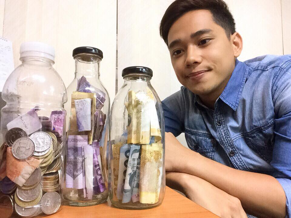 Young man saves over P55k through 'Bote Money-Saving Challenge'