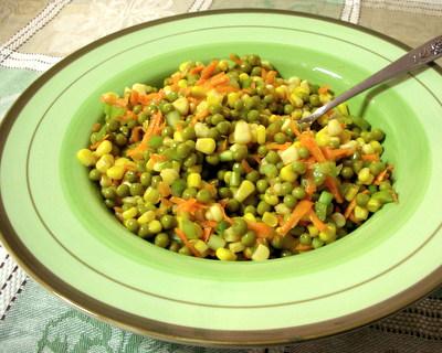Marinated Vegetable Salad ♥ AVeggieVenture.com.