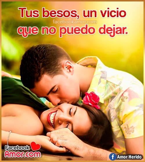 imágenes románticas de besos