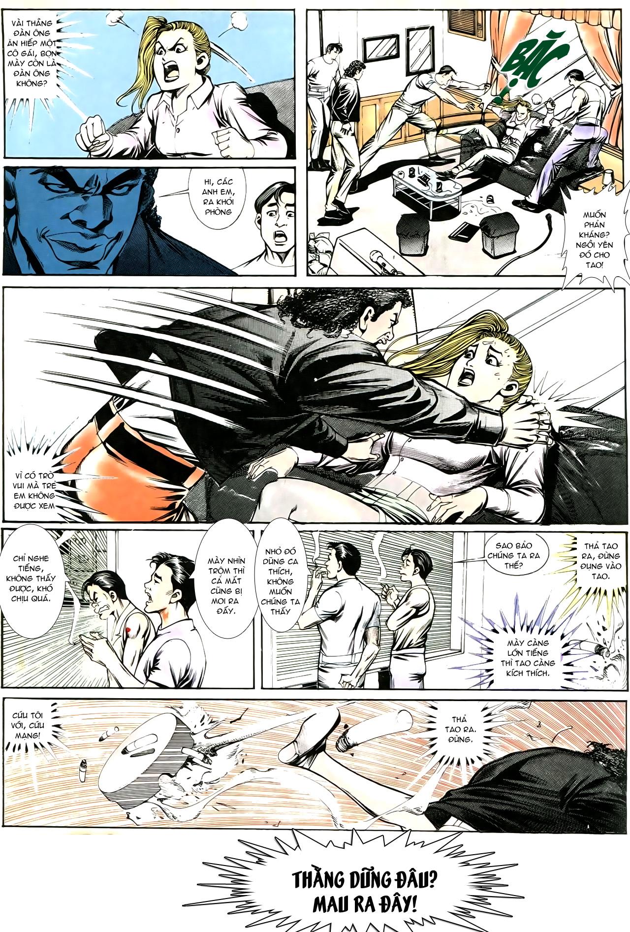 Người Trong Giang Hồ chapter 193: mưu kế đầy bụng trang 26