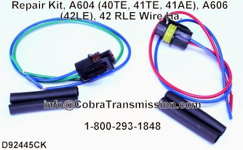 Cobra Transmission Parts 1-800-293-1848: A604, 40TE, 41TE