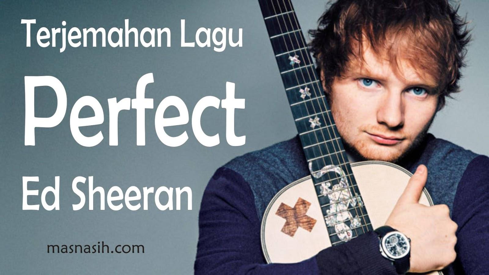 Foto Ed Sheeran Perfect