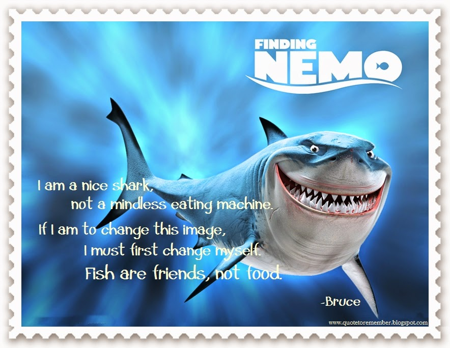 Quote To Remember Finding Nemo 2003