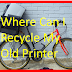 Where Can I Recycle My Old Printer