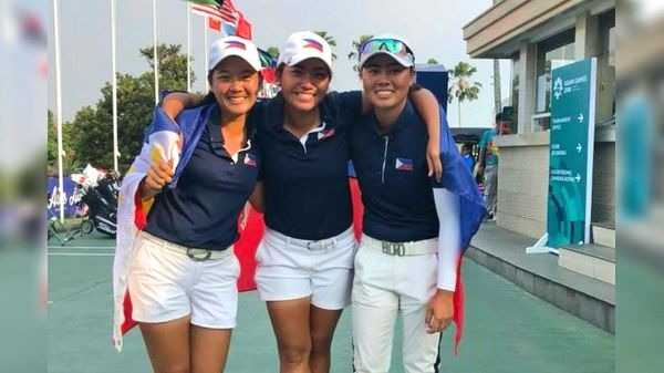 It's a back to back gold medal for PH golfers