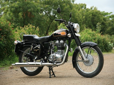 Royal Enfield Bullet 350 left side pics