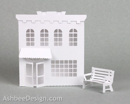 This Tutorial Is For The A Second Store Front Design And A Park Bench I Felt My Village Needed More Variety In Its Downtown Buildings