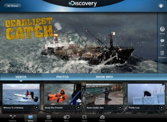Discovery Channel HD iPad app available for download