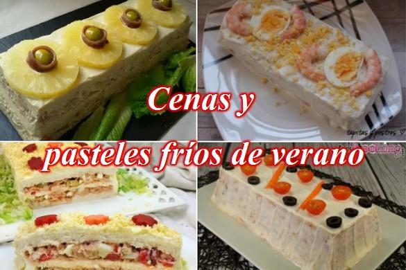 Cenas y pasteles fr os de verano el dulce paladar for Cenas faciles y economicas