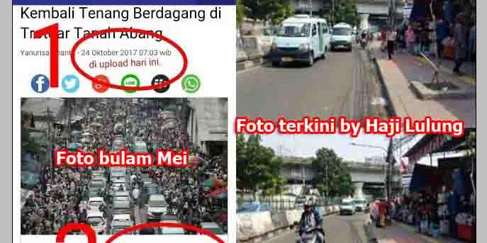 Haji Lulung Ajak Warga Mari Bersama Lawan Berita Hoaks