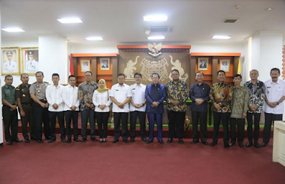 Gubernur Ridho Ajak Seluruh Komponen Sukseskan Pilkada Serentak 2018