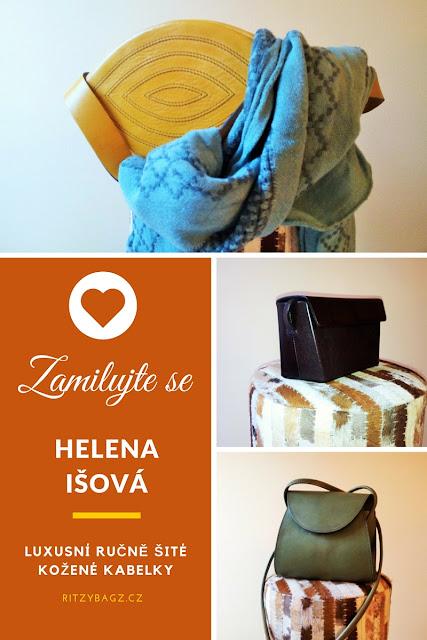 Ritzy Bagz ručně šité kožené kabelky