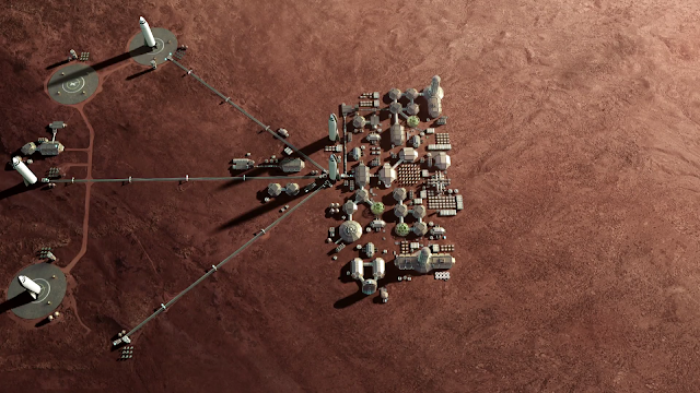 SpaceX Mars City - small
